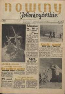 Nowiny Jeleniogórskie : tygodnik ilustrowany ziemi jeleniogórskiej, R. 2, 1959, nr 1 (41)