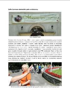 Zofia Czernow odwiedziła pałac w Bukowcu [Dokument elektroniczny]