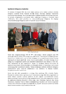 Spotkanie Delegatury Sudeckiej [Dokument elektroniczny]