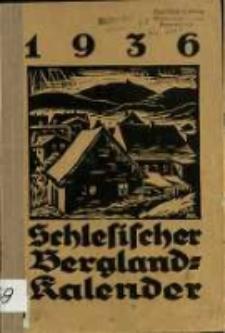 Schlesischer Bergland-Kalender 1936