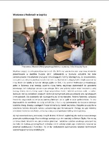Wystawa o Redenach w Legnicy [Dokument elektroniczny]