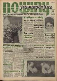 Nowiny Jeleniogórskie : magazyn ilustrowany ziemi jeleniogórskiej, R. 3, 1960, nr 6 (98)