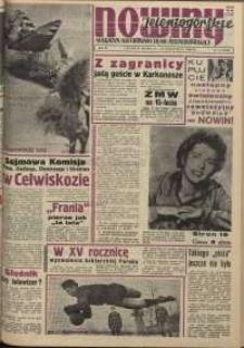 Nowiny Jeleniogórskie : magazyn ilustrowany ziemi jeleniogórskiej, R. 3, 1960, nr 14 (106)