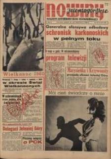 Nowiny Jeleniogórskie : magazyn ilustrowany ziemi jeleniogórskiej, R. 3, 1960, nr 15-16 (107-108)