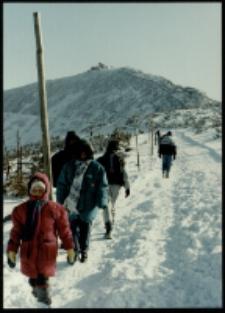 Karkonosze - Śnieżka zimą (fot. 1) [Dokument ikonograficzny]