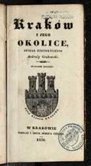Kraków i jego okolice [Wyd. 3]