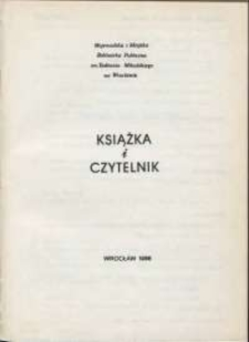 Książka i Czytelnik, 1986, nr 2