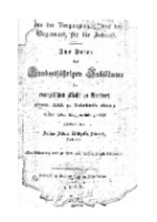 …..Zur Feier des Hunertjährigen Jubiläums der evangelischen Kirche zu Arnsdorf. (Dom. XXI. P. Trinitatis 1855) Seiner Lieben Kirchgemeinde….[Dokument elektroniczny]