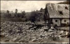 Hochwasser - Katastrophe im Riesengebirge in der Nacht von 2. zum 3. Juli 1926. Agnetendorf [Dokument ikonograficzny]