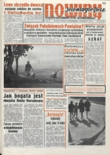 Nowiny Jeleniogórskie : magazyn ilustrowany ziemi jeleniogórskiej, R. 3, 1960, nr 43 (135)