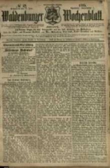 Waldenburger Wochenblatt, Jg. 41, 1895, nr 52