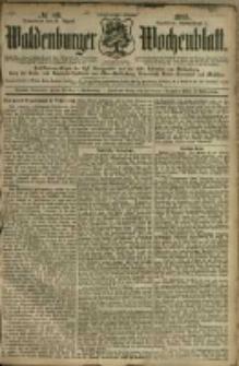 Waldenburger Wochenblatt, Jg. 41, 1895, nr 68
