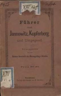 Führer durch Jannowitz, Kupferberg und Umgegend