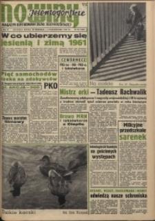 Nowiny Jeleniogórskie : magazyn ilustrowany ziemi jeleniogórskiej, R. 4, 1961, nr 39 (183)