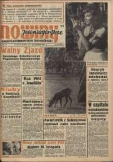 Nowiny Jeleniogórskie : magazyn ilustrowany ziemi jeleniogórskiej, R. 4, 1961, nr 46 (190)