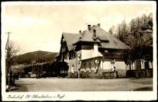 Szklarska Poręba Górna - budynek dworca [Dokument ikonograficzny]