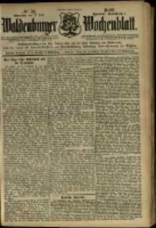 Waldenburger Wochenblatt, Jg. 45, 1899, nr 58
