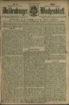 Waldenburger Wochenblatt, Jg. 46, 1900, nr 5