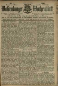 Waldenburger Wochenblatt, Jg. 46, 1900, nr 11