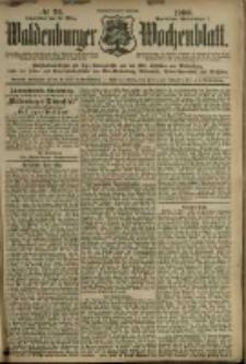 Waldenburger Wochenblatt, Jg. 46, 1900, nr 22