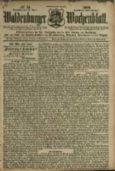 Waldenburger Wochenblatt, Jg. 46, 1900, nr 34