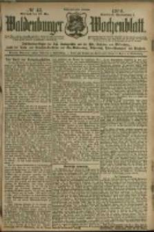 Waldenburger Wochenblatt, Jg. 46, 1900, nr 43