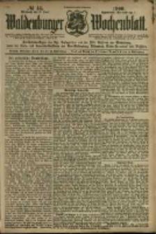 Waldenburger Wochenblatt, Jg. 46, 1900, nr 45