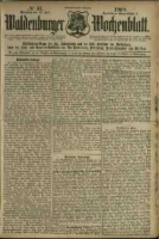 Waldenburger Wochenblatt, Jg. 46, 1900, nr 57