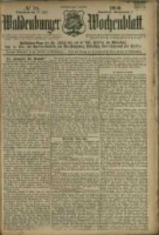 Waldenburger Wochenblatt, Jg. 46, 1900, nr 58