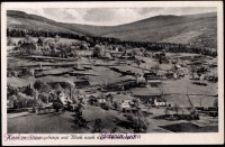 Przesieka - widok latem na tle Przełęczy Karkonoskiej [Dokument ikonograficzny]