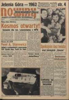 Nowiny Jeleniogórskie : magazyn ilustrowany ziemi jeleniogórskiej, R. 5, 1962, nr 1 (197)
