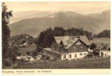 Szklarska Poręba Dolna - widok na schronisko Dachsbaude [Dokument ikonograficzny]