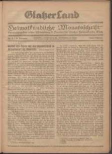 Glatzer Land, 1924, nr 4