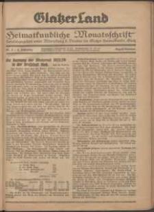 Glatzer Land, 1924, nr 8