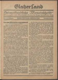Glatzer Land, 1924, nr 11