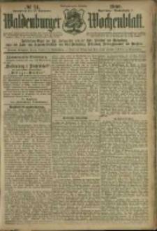 Waldenburger Wochenblatt, Jg. 46, 1900, nr 74