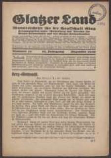 Glatzer Land, 1930, nr 12