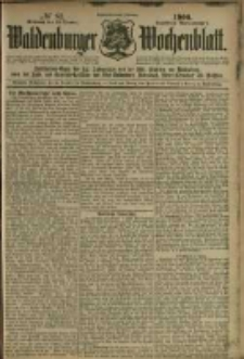 Waldenburger Wochenblatt, Jg. 46, 1900, nr 81