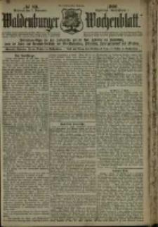Waldenburger Wochenblatt, Jg. 46, 1900, nr 89