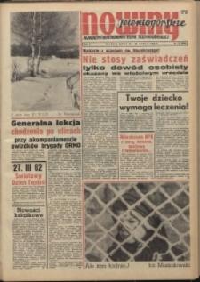 Nowiny Jeleniogórskie : magazyn ilustrowany ziemi jeleniogórskiej, R. 5, 1962, nr 12 (208)