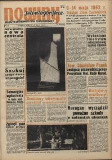 Nowiny Jeleniogórskie : magazyn ilustrowany ziemi jeleniogórskiej, R. 5, 1962, nr 18 (214)