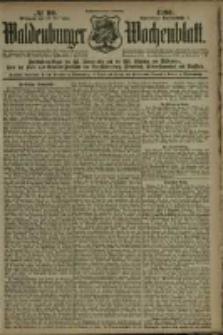 Waldenburger Wochenblatt, Jg. 46, 1900, nr 99