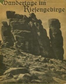 Wandertage im Riesengebirge