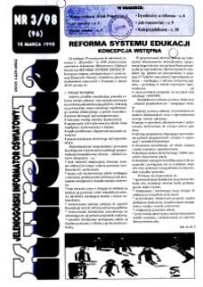 Kurenda : jeleniogórski informator oświatowy, 1998, nr 3 (96)