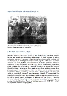 Śląski Rembrandt w służbie opatów (cz. 2)