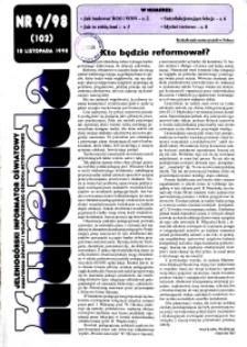 Kurenda : jeleniogórski informator oświatowy, 1998, nr 9 (102)