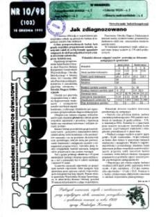 Kurenda : jeleniogórski informator oświatowy, 1998, nr 10 (103)
