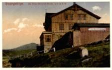 Riesengebirge. Die Prinz Heinrich-Baude, 1410 m ü. M. [Dokument ikonograficzny]