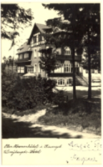Ober- Krummhübel i. Riesengeb. Dreyhaupts-Hotel [Dokument ikonograficzny]