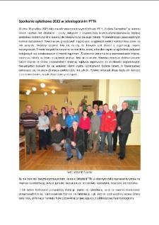 Spotkanie opłatkowe 2015 w jeleniogórskim PTTK [Dokument elektroniczny]